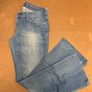Used Levi's 522 Ultra Low Boot 12L/W31 Womens Jean